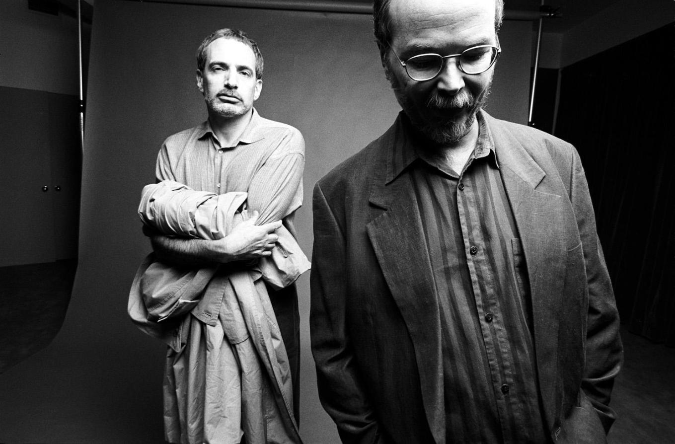 Steely Dan studio closeup NEW YORK CITY, 1993